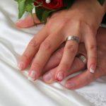 Silver wedding ring