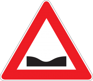 beware of pothole