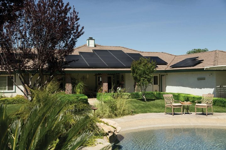 roof and solar energy